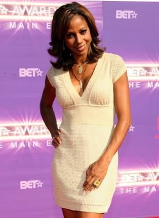 Holly Robinson Peete BET awards red carpet arrivals
