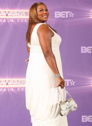 Queen Latifah BET awards arrivals