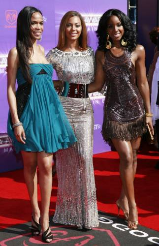 Deastiny's Child Beyonce 2007 BET awards arrivals