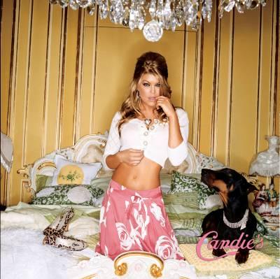 Fergie candie's ad