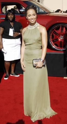 Alicia Keys BET awards red carpet arrivals