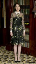 michelle-dockery-Michelle Dockery in Erdem Resort 2014
