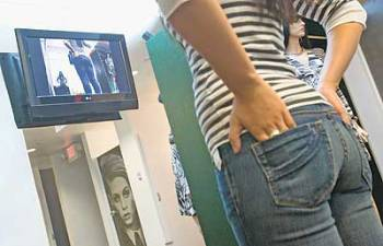 jeans booty cam