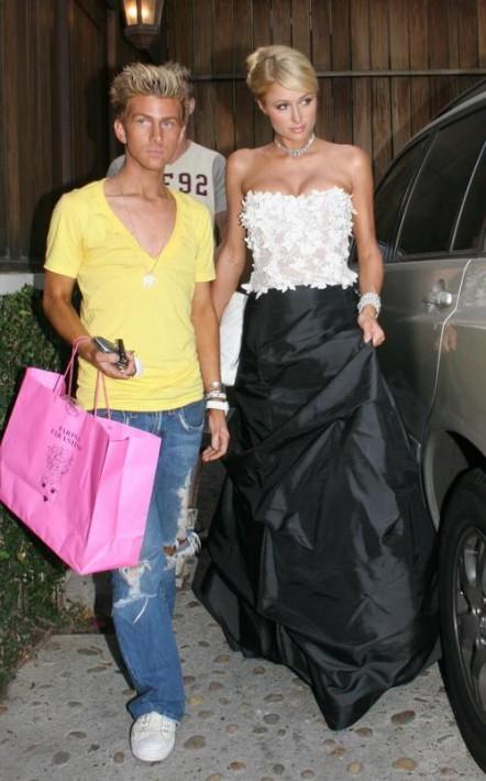 Jonathan Bash and Paris Hilton