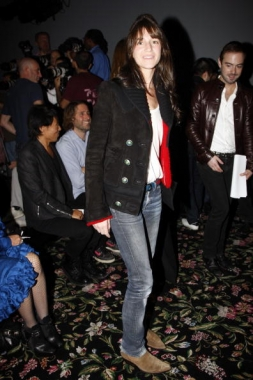 Charlotte Gainsbourg boots