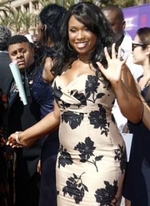 Jennifer Hudson BET awards red carpet arrivals