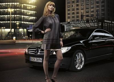 mercedes-benz fashion week Germany Padberg