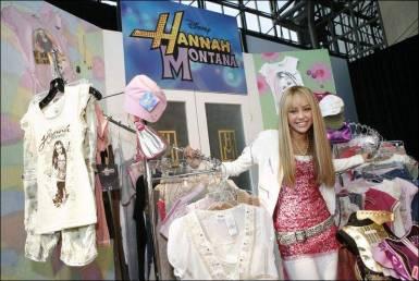 Hannah Montana clothing line