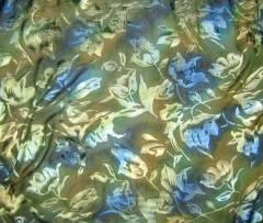 devore burnout texture in fabric