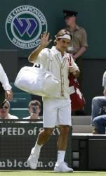 Roger Federer Wimbledon Cardigan