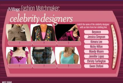 Celebrity Fashion Lines