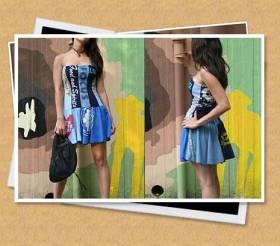 t-shirt mini dress