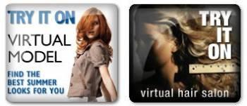 virtual makeovers