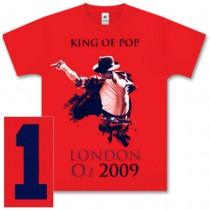 King of Pop T-shirt